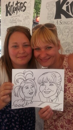 Winnipeg Party Caricatures