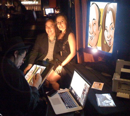 Miami Digital Caricaturist