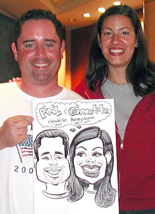 San Diego Party Caricature Artists
