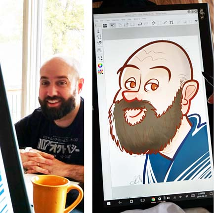 London Digital Caricaturist