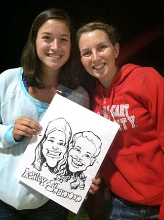 Nantucket Party Caricaturist