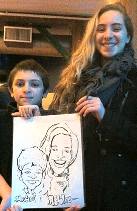 Nantucket Party Caricature Artist