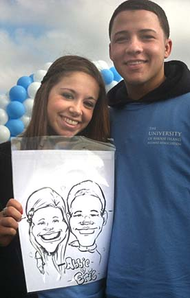 Nantucket Party Caricatures