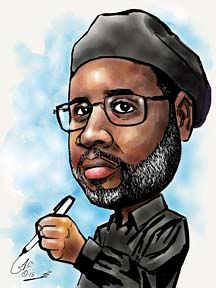 Digital Caricature Artist Anthony