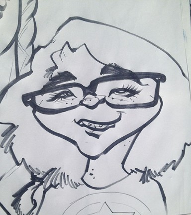 Knoxville Party Caricaturist