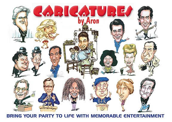 Long Island Party Caricaturist