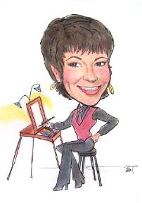 Party Caricature Artist Barbara