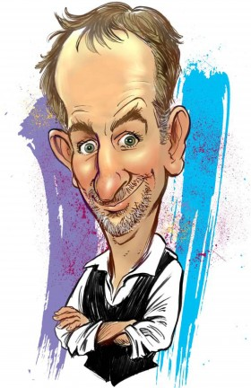 Digital Caricature Artist BenJamN