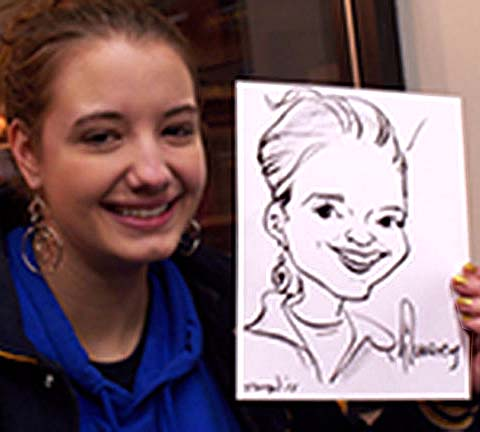 Providence Party Caricature Artist
