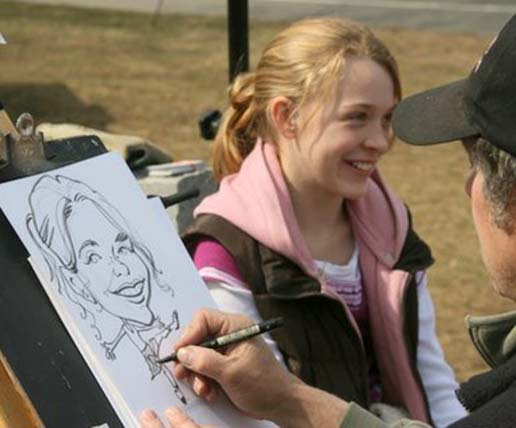 Providence Party Caricatures