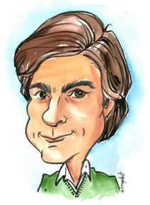 Party Caricature Artist Bill