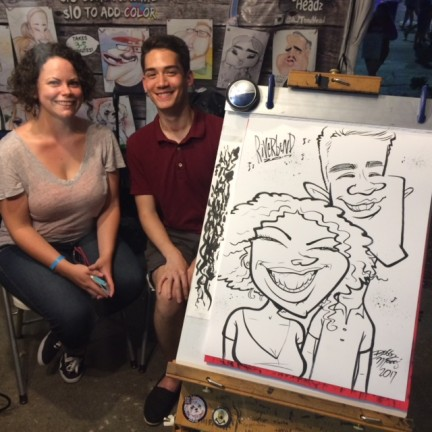 Macon Party Caricature Artist