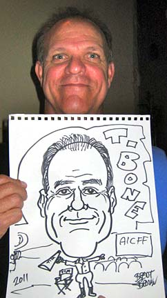 Hendersonville Party Caricaturist