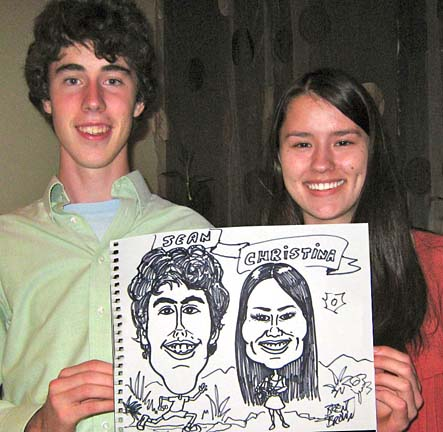 Hendersonville Party Caricature Artist