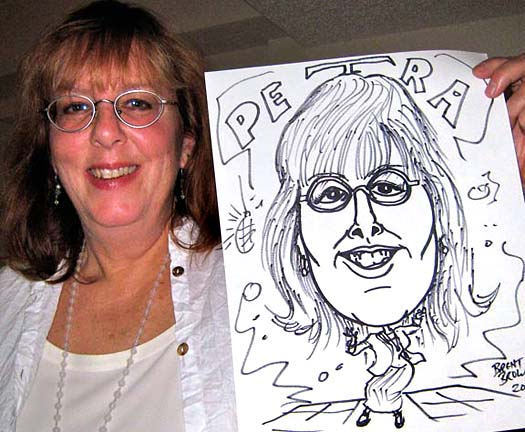 Hendersonville Party Caricatures