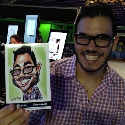Miami Digital Caricatures
