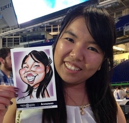 Miami Digital Caricature Artists