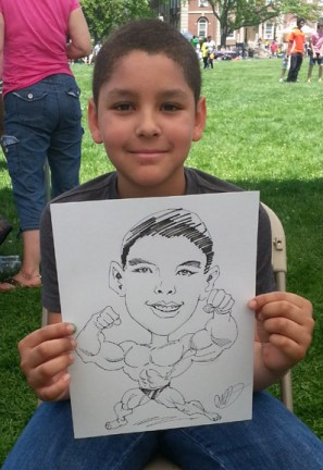 Hartford Party Caricatures
