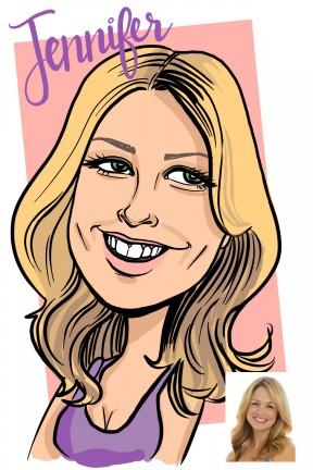 Philadelphia Digital Caricature Artist