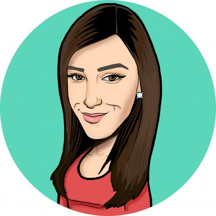 Digital Caricature Artist Courtney