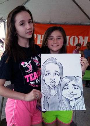 Dallas-Ft Worth Party Caricature Artist