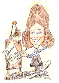 Party Caricature Artist Darlene