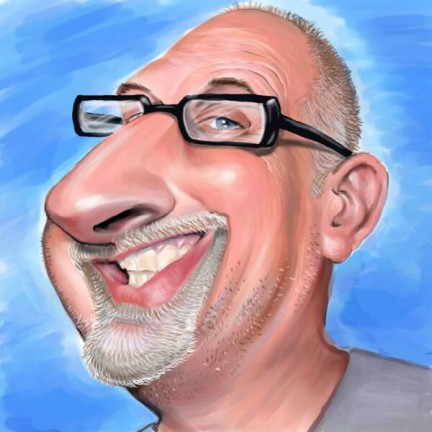 Digital Caricature Artist Dave