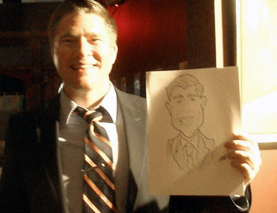 Des Moines Party Caricatures