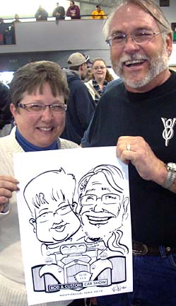 Milwaukee Party Caricaturist