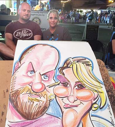 Atlanta Party Caricature Artist