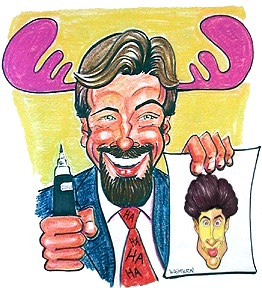 Party Caricature Artist David