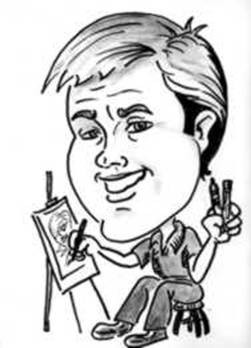Party Caricature Artist Don