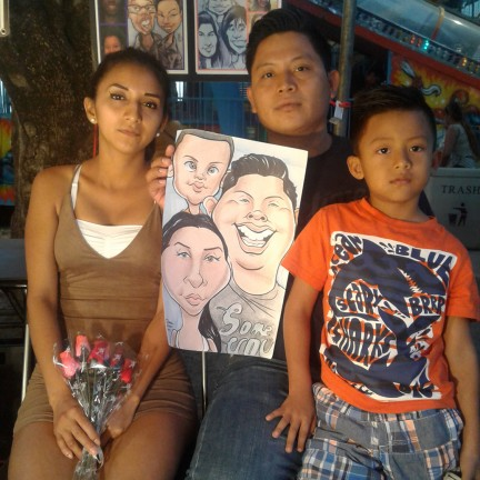 Riverside Party Caricature Artists
