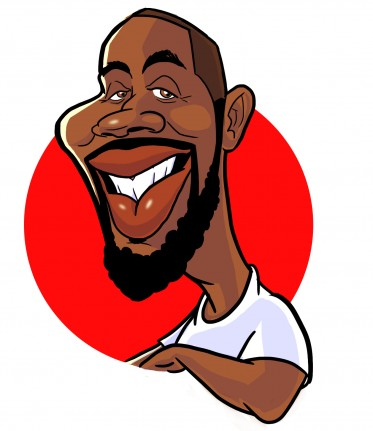 Party Caricature Artist Durrell