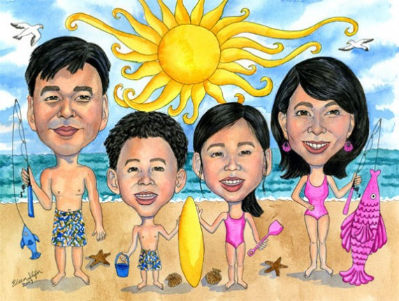 Gift Caricature Artist