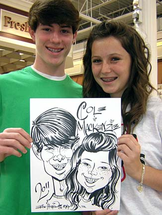 Greensboro / Winston-Salem / High Point Party Caricature Artist