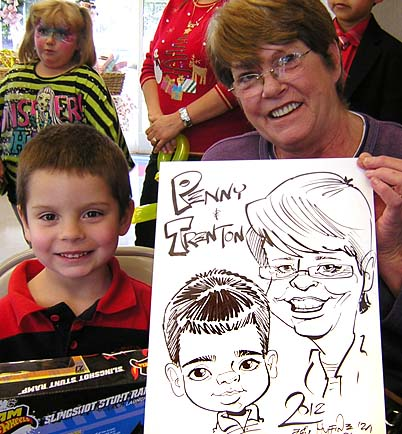 Greensboro / Winston-Salem / High Point Party Caricatures
