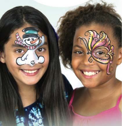 South Bend Face Painter Caricature Artists