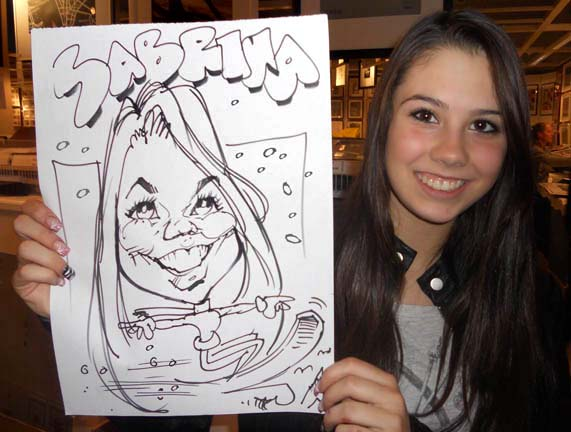 The-Nose Caricature Artists