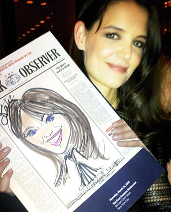 New York City - Manhattan Party Caricaturist