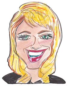 Party Caricature Artist Geraldine
