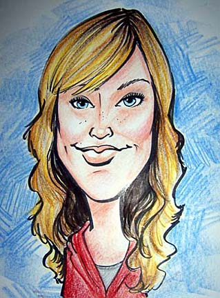 Party Caricature Artist Jackie