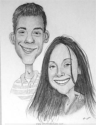 Waterville Party Caricaturist