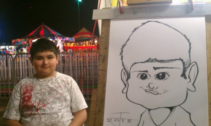 Raleigh / Durham / Chapel Hill Party Caricature Artists