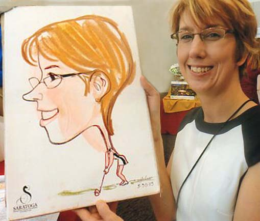 Albany Party Caricatures