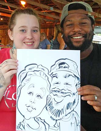 Roanoke Party Caricature Artists
