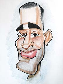 Party Caricature Artist Jeffrey