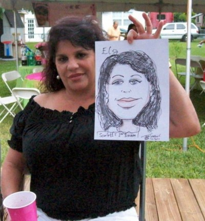 Miami Party Caricaturist