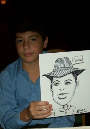 Miami Party Caricature Artist