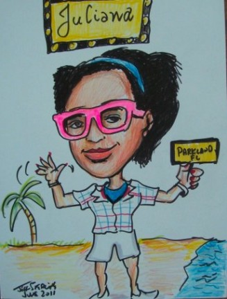 Miami Party Caricatures